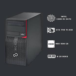 Компьютер intel core i5 3470+GTX 750 TI 2gb+ 8gb ddr3.
