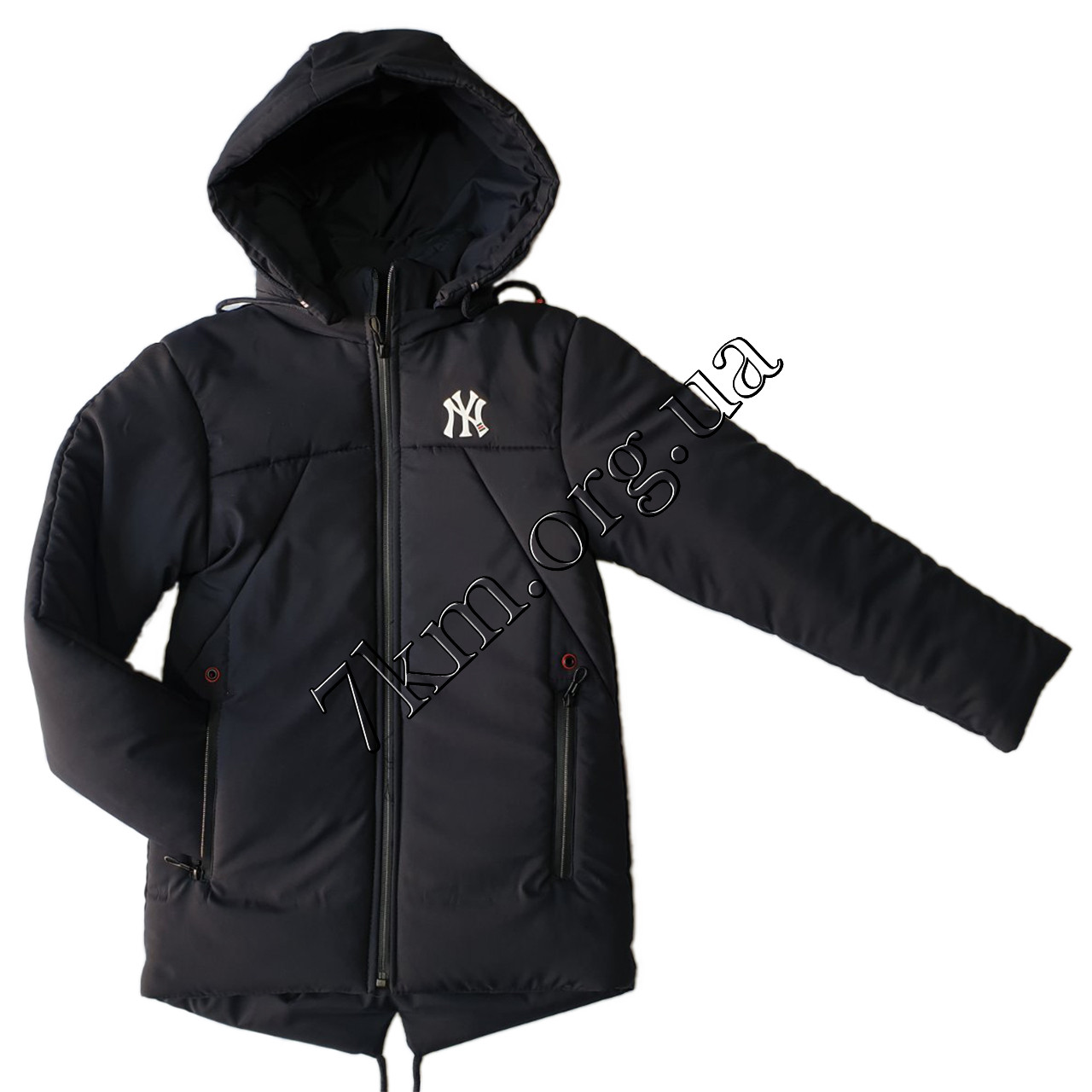 """Куртка детская оптом для мальчиков 5-9 лет """"NY"""" 200107-2"""