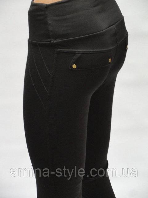 УТЕПЛЕННЫЕ Леггинсы женские черные, в наличии XL,2XL,3XL,4XL батал начес