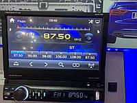 Автомагнитола с выездным экраном и Bluetooth Shuttle SDUM-7060 Black/Multicolor
