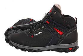 Мужские зимние ботинки Размер 40 в стиле Columbia Прошитые, с мехом