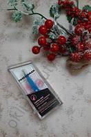Пинцет Tweezerman Mini (голубой) для бровей