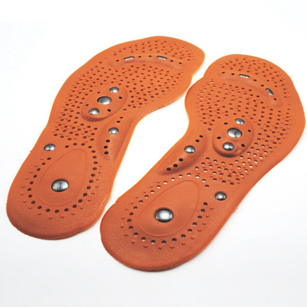 Массажные магнитные стельки для обуви