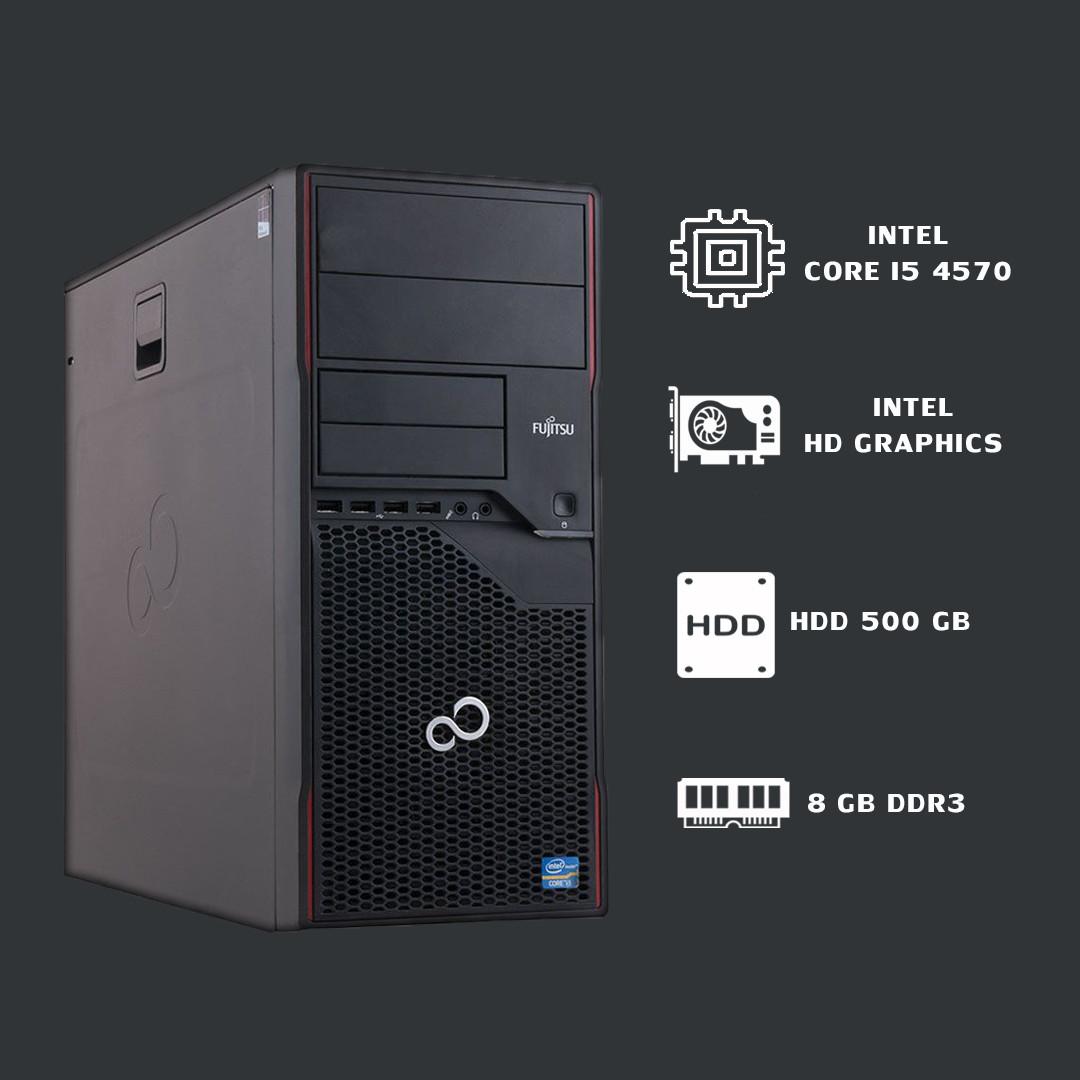 Компьютер intel core i5 4570+ 8gb ddr3 + intel HD Graphics