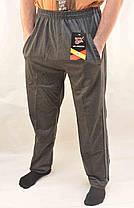 Брюки спортивные мужские трикотажные с полосками XL - 5XL Штаны повседневные Ao Longcom, фото 3