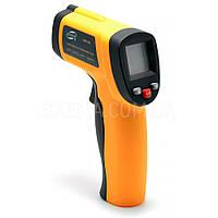 Пирометр инфракрасный Benetech GM550 бесконтактный термометр, от-50 до +550c, фото 1