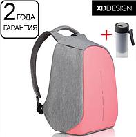 "Оригинал! Гарантия 2 года. Антивор рюкзак для ноутбука XD Design Bobby Compact Coralette 14"" (P705.534)"