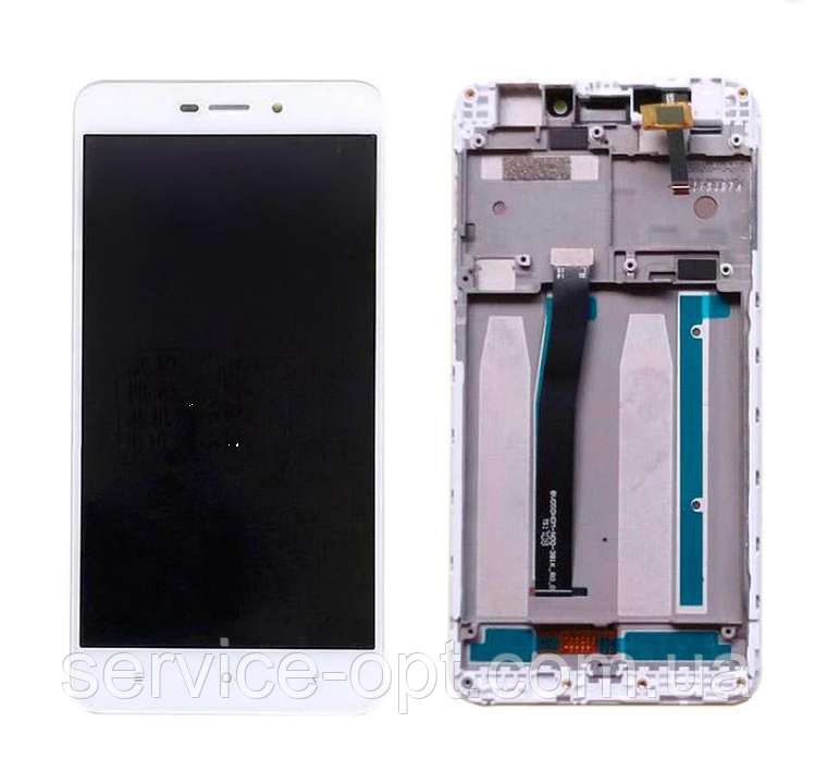 Дисплей Xiaomi Redmi 4A + сенсор белый + рамка