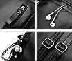 Рюкзак женский кожзам Backpack Черный, фото 8