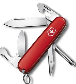 Cкладной функциональный нож Victorinox Tinker 04603 красный