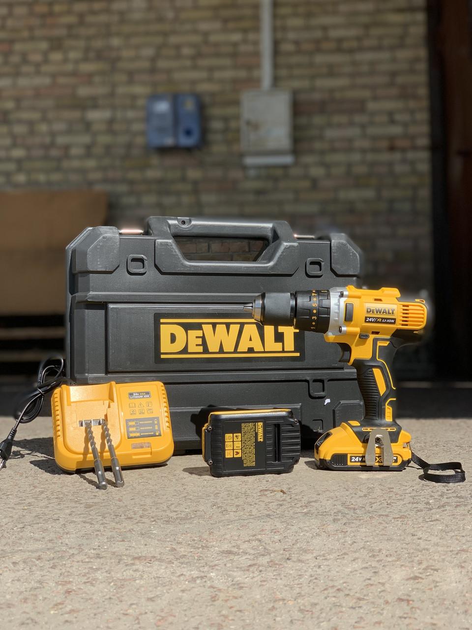 Дрель шуруповёрт аккумуляторный (ударный шуруповёрт) DeWalT DCD996 Чехия