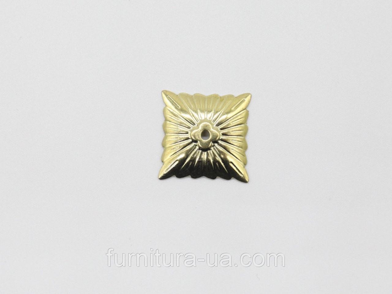 Декоративні накладки. Колір золото.20мм
