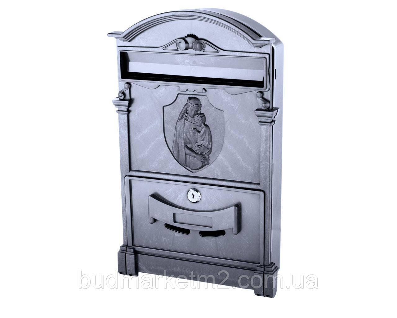 Поштова скринька VITA чорний Діва Марія