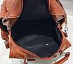 Рюкзак жіночий шкіряний трансформер Practical, фото 7
