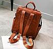 Рюкзак жіночий шкіряний трансформер Practical, фото 5