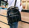 Рюкзак жіночий шкіряний трансформер Practical, фото 3