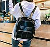 Рюкзак жіночий шкіряний трансформер Practical, фото 2