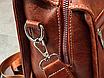 Рюкзак жіночий шкіряний трансформер Practical, фото 9
