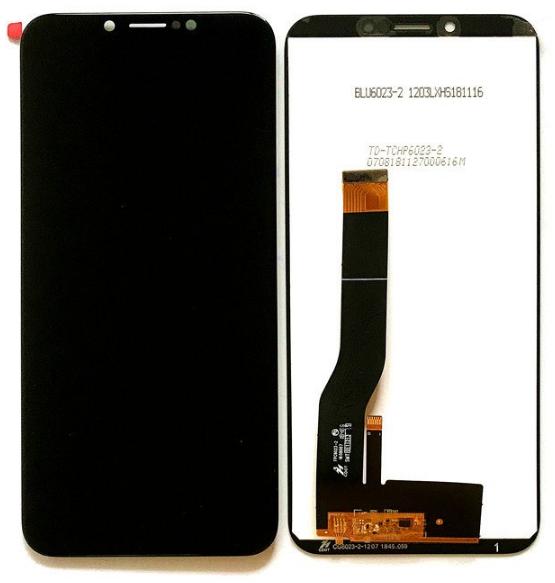 Дисплей Doogee X80 + сенсор чёрный