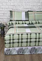Постельное белье Lotus Ranforce - Alexa зеленый семейное