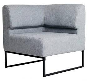 Кресло Лаунж Угловой, ткань Lounge Light Grey (Richman ТМ)