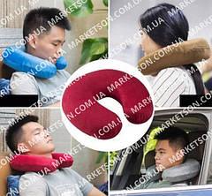 Подушки подголовники дорожные для шеи