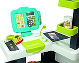 Супермаркет с электронной кассой и тележкой Smoby Market (34 ед.) Франция (350212), фото 9