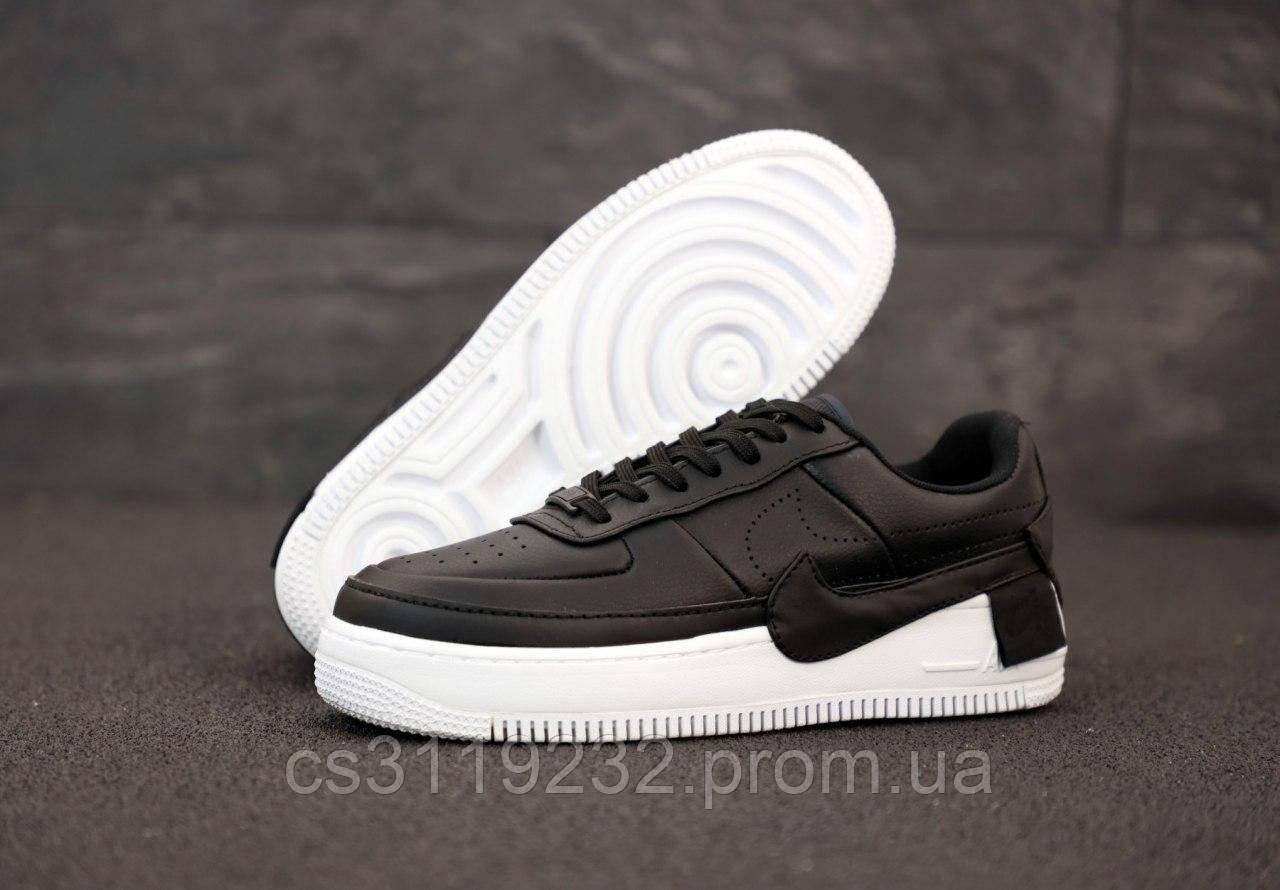 Мужские кроссовки Nike Air Force Low Jester Black (черные)