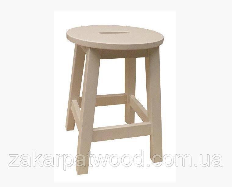 Стілець для кухні барний тонований (бук) (500*300*300мм)