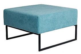 Кресло Лаунж Единица Без Спинки, ткань La Manche Turquoise (Richman ТМ)