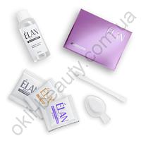 Гель-краска для бровей и ресниц ELAN (саше с окислителем 01 черный)