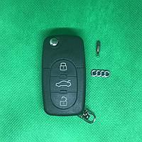 Выкидной ключ Audi (Ауди) - 3 кнопки с микросхемой 4DO 837 231 A, с частотой 433 MHz ID48 chip