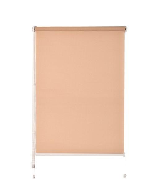Рулонная штора De zon Fleur Mini 61,5х150 см бежевая