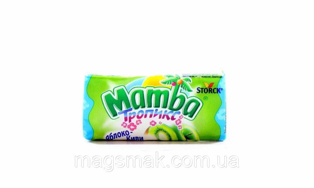 Жевательные конфеты Mamba Тропикс, 26,5 г