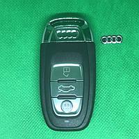 Смарт ключа для Audi А3, А4,A4l, А5, А6, А7, А8, Q3, Q5, Q7 (Ауди) 3 - кнопки 434 Mhz 754C