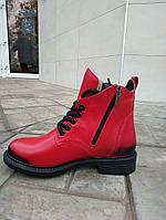 Зимові черевики на цегейке 37,39 розмір, фото 1