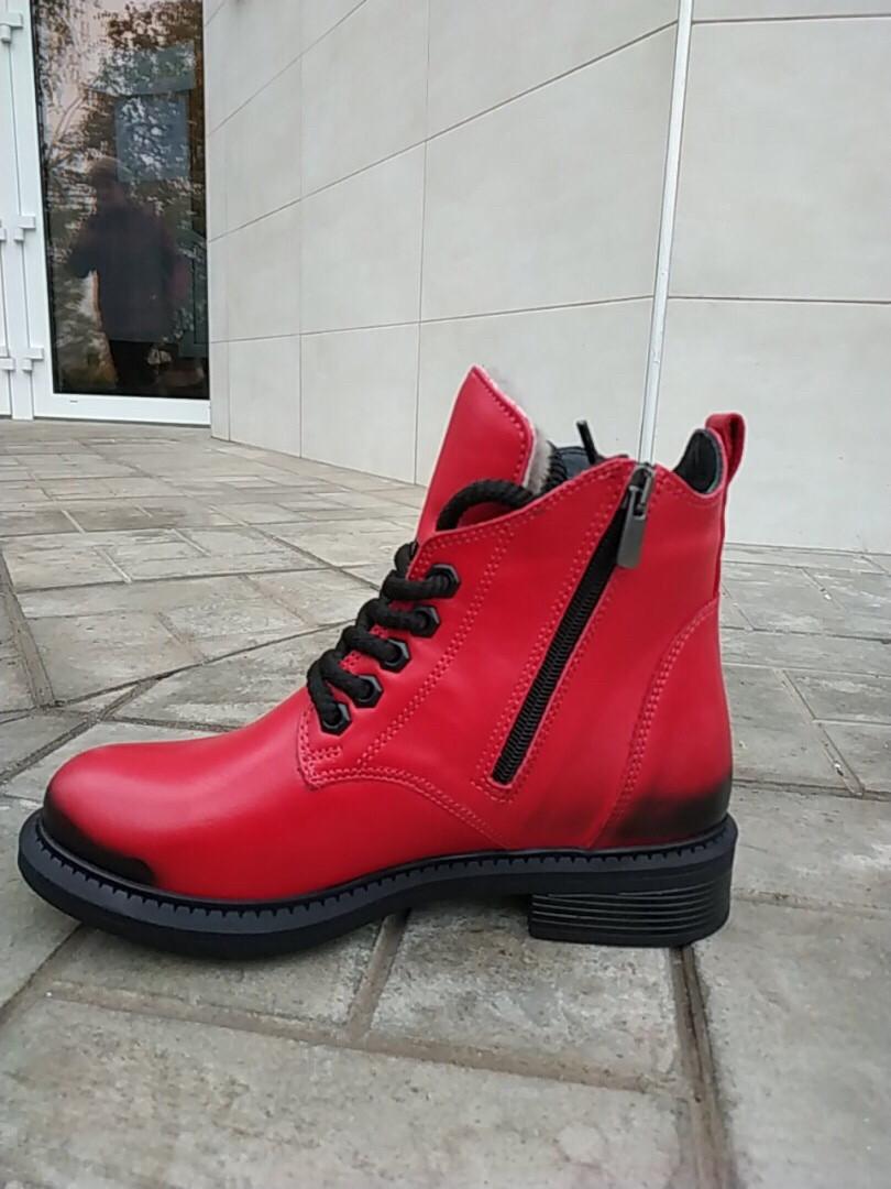Зимові черевики на цегейке 37,39 розмір