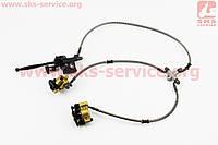 Тормозная система передняя гидравлическая в сборе для миниквадроцикла, квадроцикла, Mini ATV