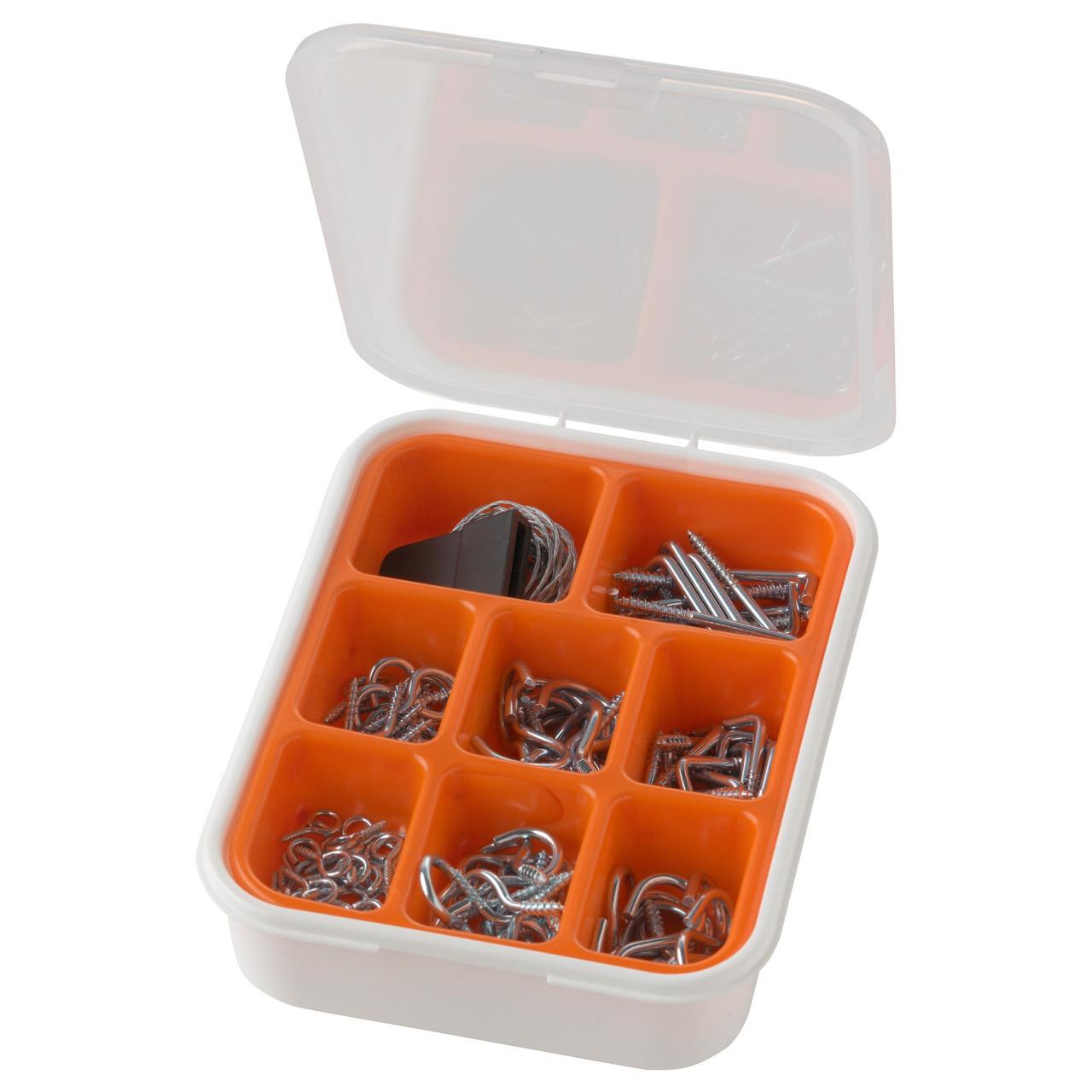 Комплект крючков и подвесок IKEA FIXA, 102 шт. 902.242.32