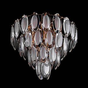 Кришталева люстра классичесская з LED підсвічуванням на 9 лампочок P5-E1791/9(2м)/FG