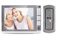 Видеодомофон LUXURY 806 R2, cерый, цветной, память, SD