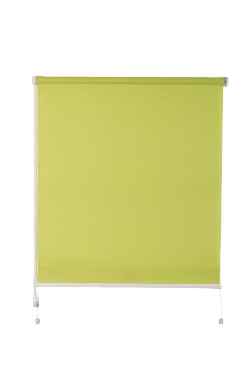 Рулонная штора De zon Fleur Mini 72,5х150 см зеленая