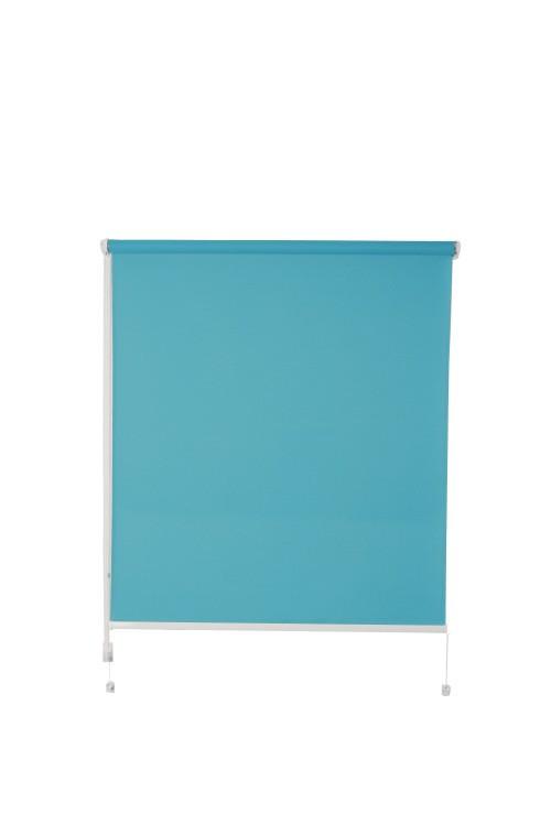 Рулонная штора De zon Fleur Mini 80х150 см бирюзовая