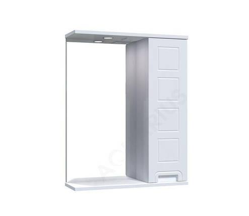 Зеркало Аквариус Cимфония со шкафчиком и подсветкой 55 см, фото 2
