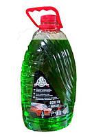 Жидкость в бачок стеклоомывателя Зимняя Nitrogruppe SCREEN WASH -25С 4кг Яблоко ПЭТ (зеленый цвет)