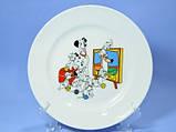 Тарелка мелкая 175 мм с детским рисунком, фото 3