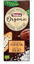 Шоколад Torras Organic Sea salt 100 g
