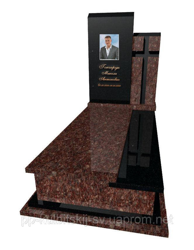 Пам'ятник надмогильний Елітний одинарний Р 5038