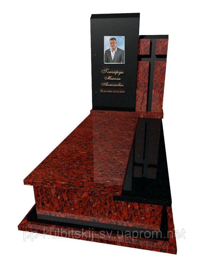 Пам'ятник з граніту Елітний одинарний Р5039