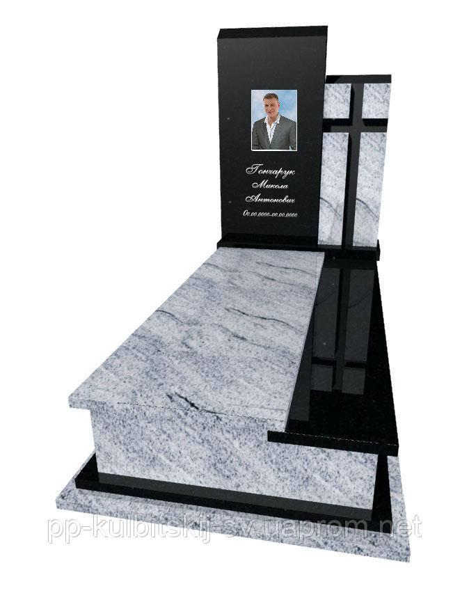 Пам'ятник надгробний Елітний одинарний Р 5040